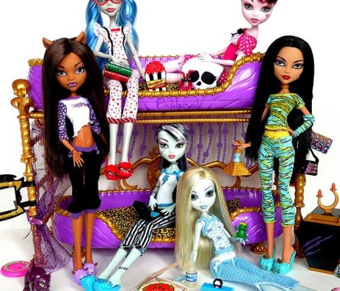 Любимая пижамка — Тесты Monster High