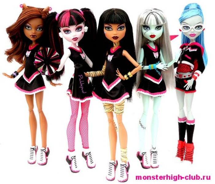 Примут ли тебя в группу поддержки ужасов? — Тесты Monster High
