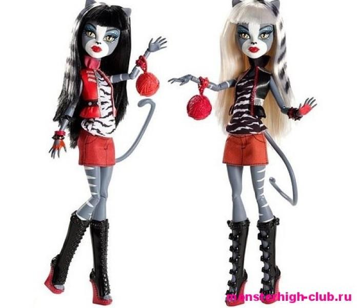 Смогла бы ты подружиться с Пурсефоной и Мяулодией — Тесты Monster High