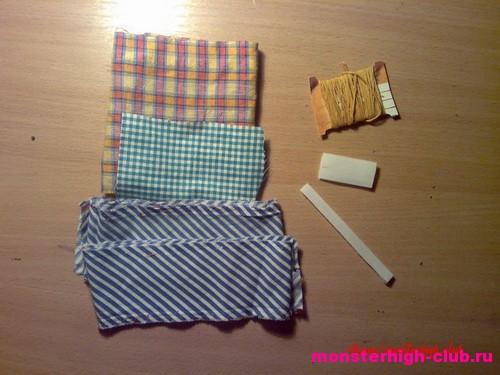 Как сшить перчатку для кукол школа монстров без пальцев