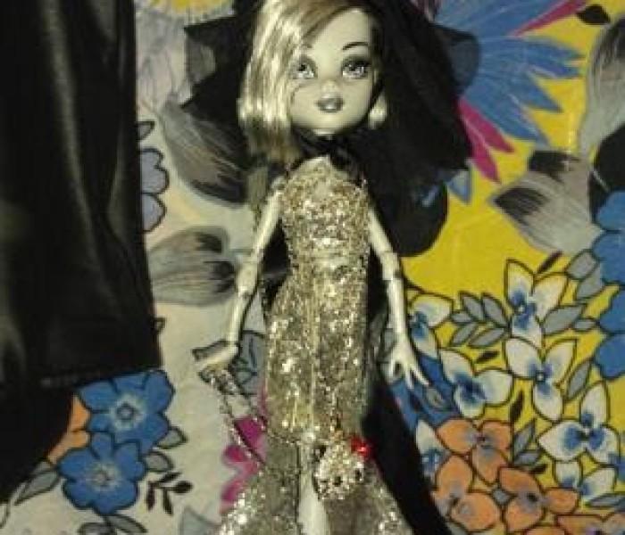 Платье «Мерцающая элегантность» — Конкурс модельеров 3 этап