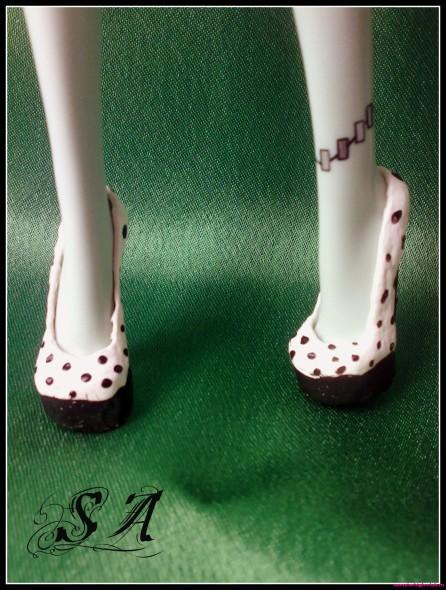 Туфли из пластилина 4