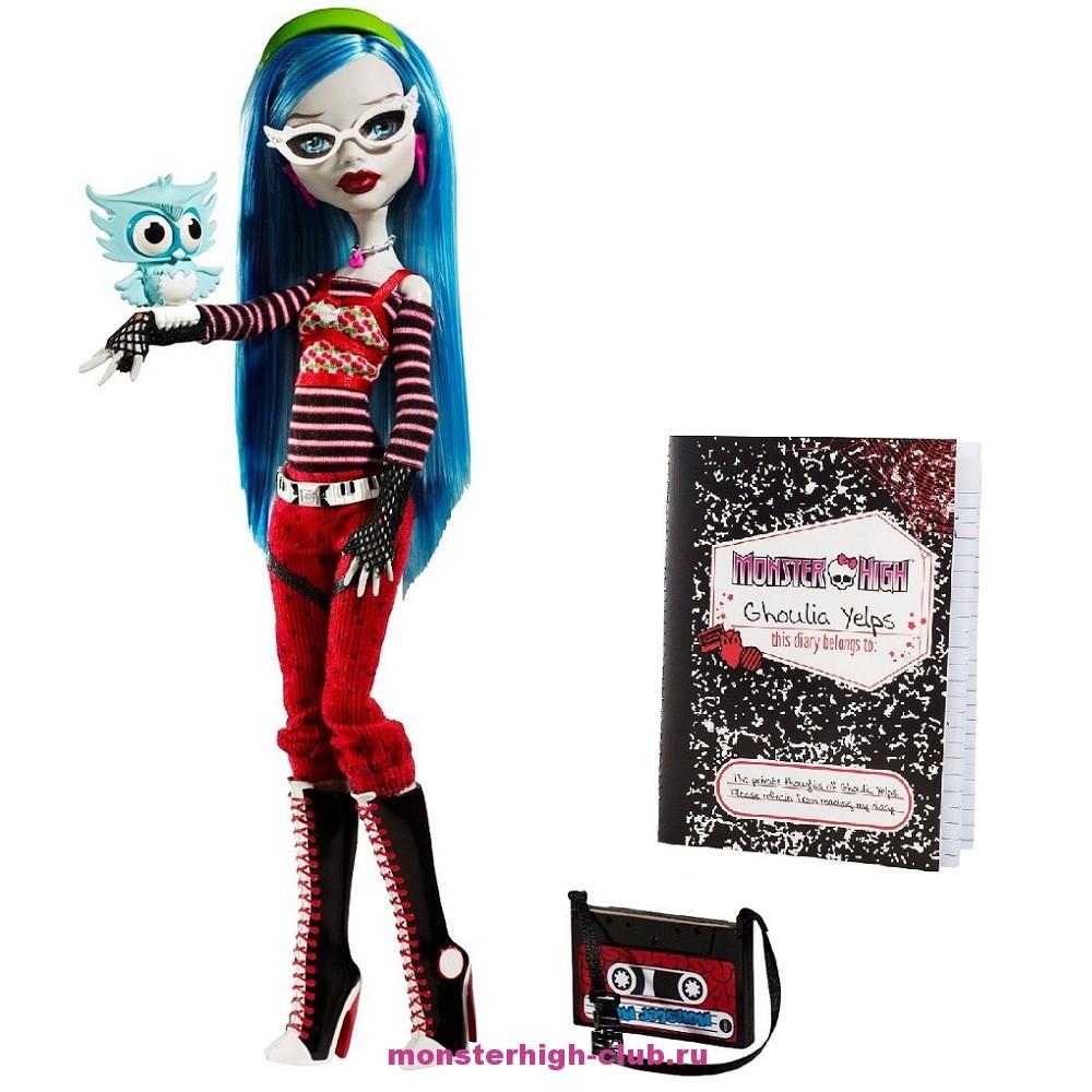 Обзор на базовую Гулию Йелпс | Monster High Club