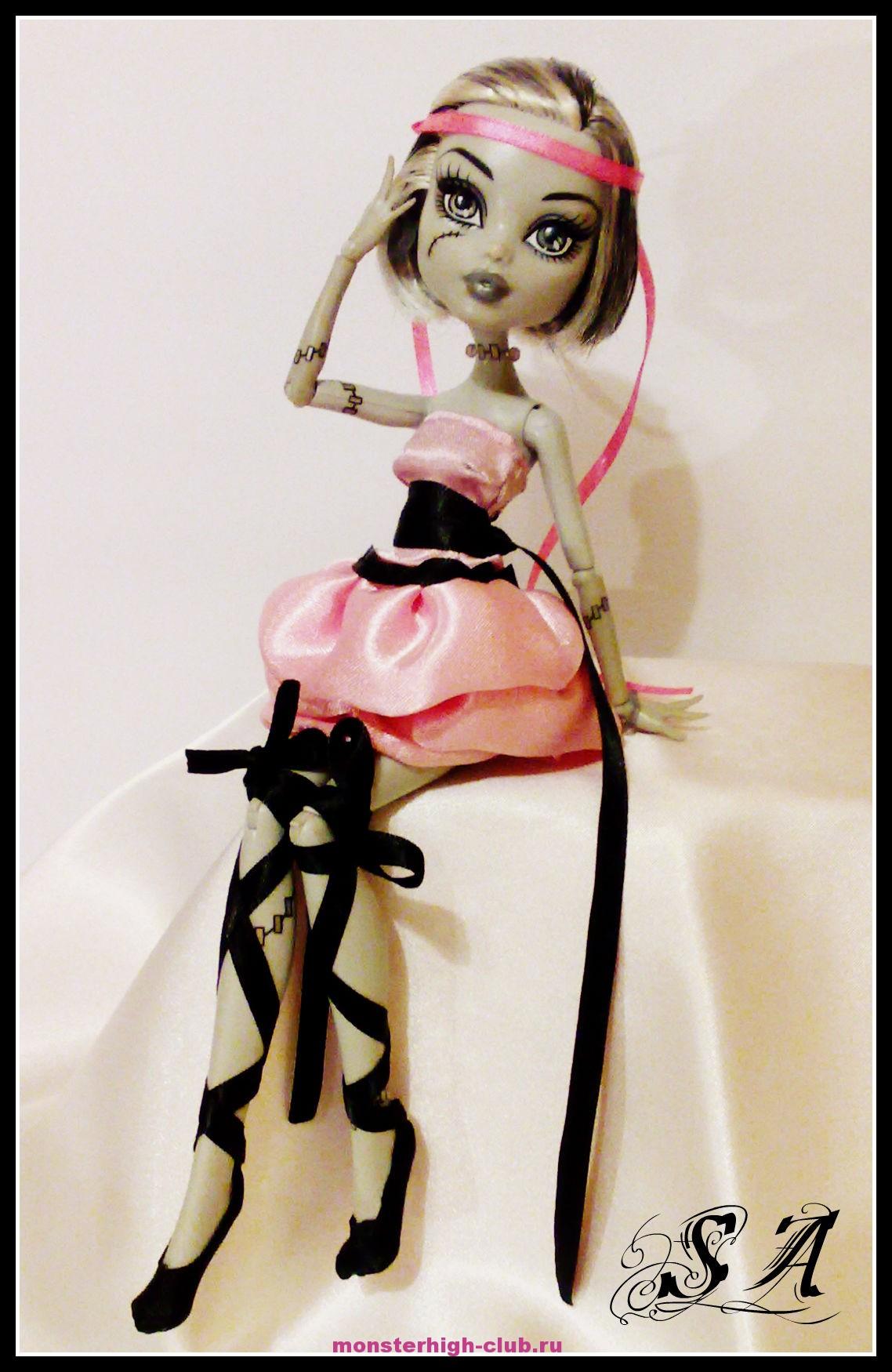 Красивые платья для кукол своими руками монстер хай