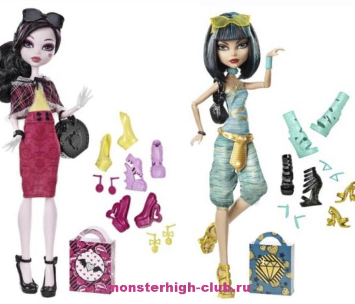 Краткий обзор Клео Де Нил и Дракулауры из серии «Я люблю обувь»