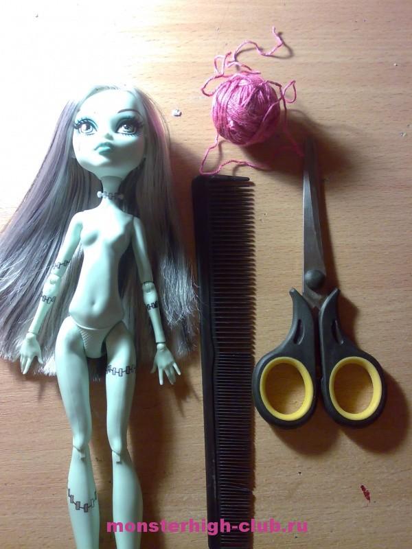 Можно ли кукле мыть волосы
