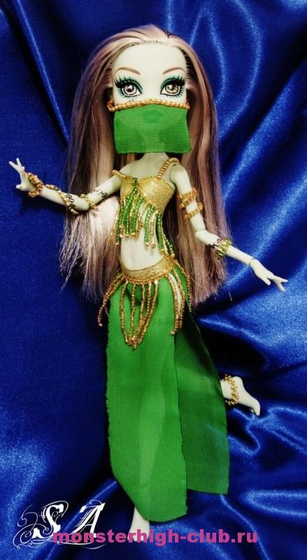 Костюм для куклы монстер хай своими руками