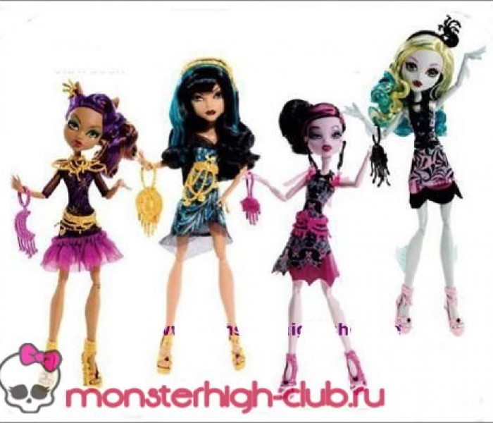 Промо-фото новинок Monster High на 2014 год