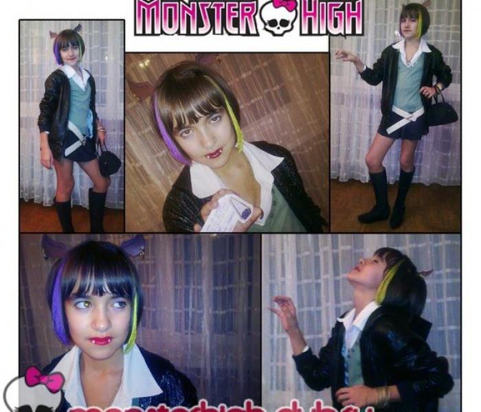 Monster High Party 3 этап работа Стефании Бердниковой.