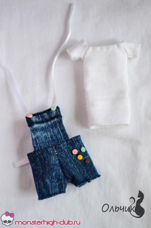 Сшить шорты для кукол барби 794