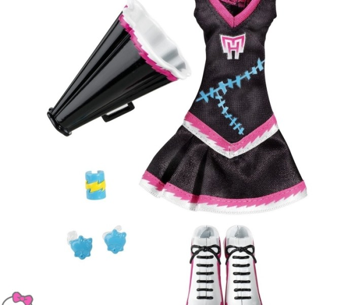 Scream Uniform/ Go Monster High Team!!! / Ghoul Spirit