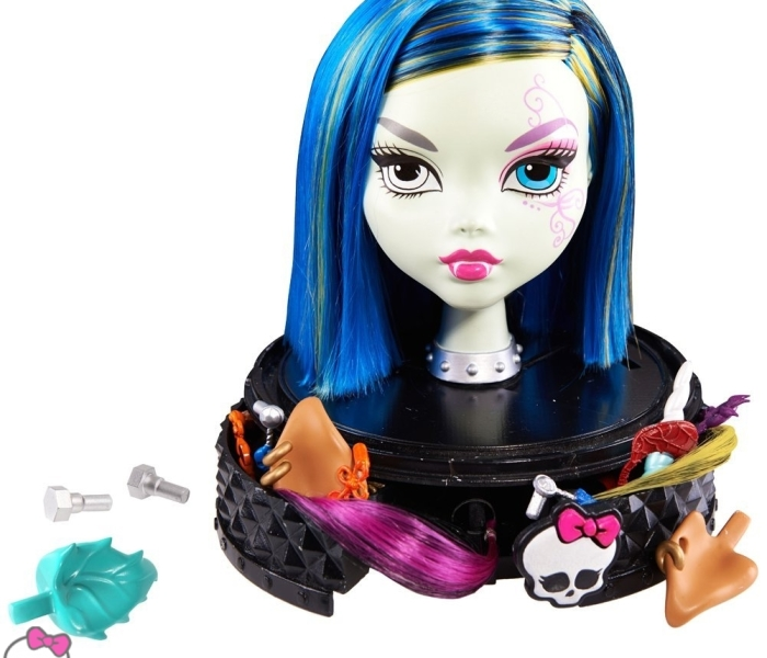 Промо-фото головы Monster High Antistyling Head