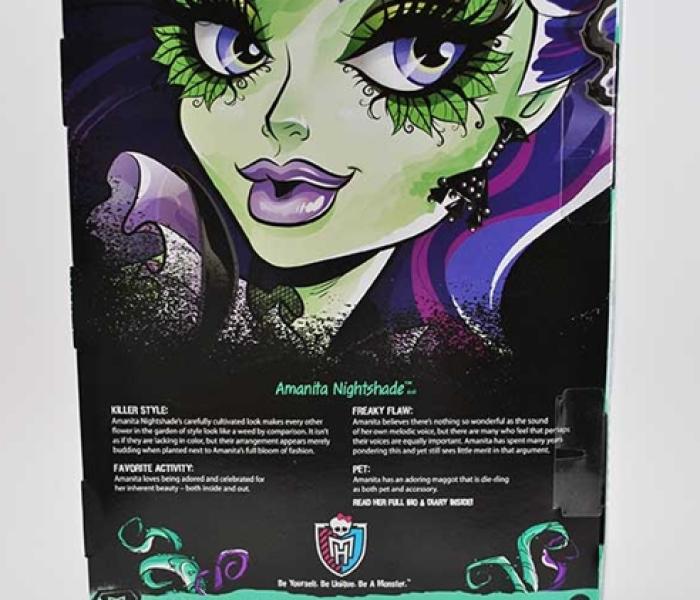 Аманита Найтшейд (Amanita Nightshade) — био на русском языке