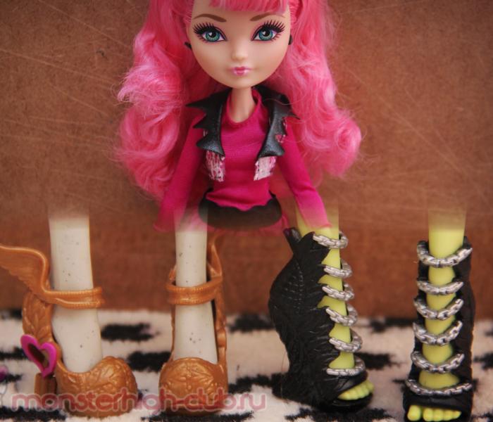 Сравнение одежды и обуви Monster High и Ever After High