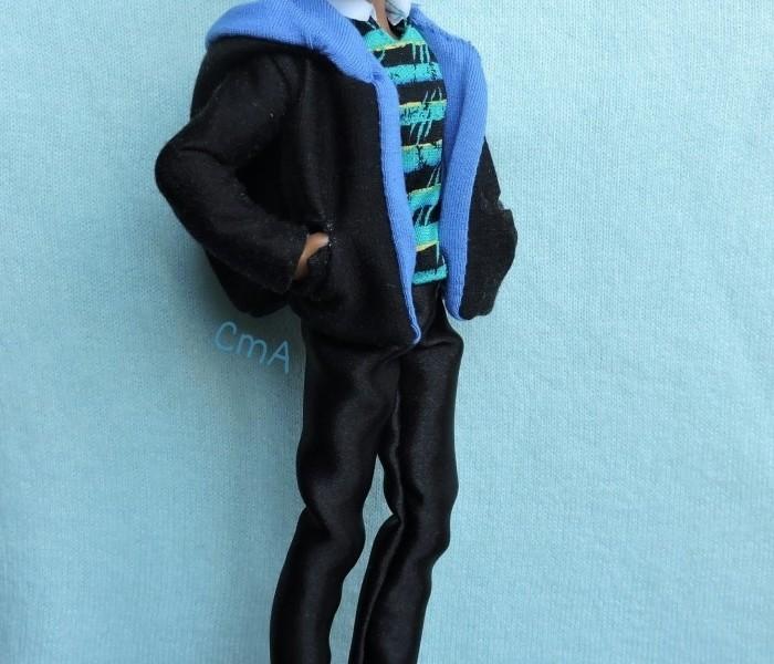 Двойная курточка с карманами для мальчика Monster High