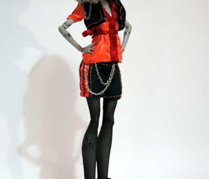 Мастер класс костюм «Огненный джинс»