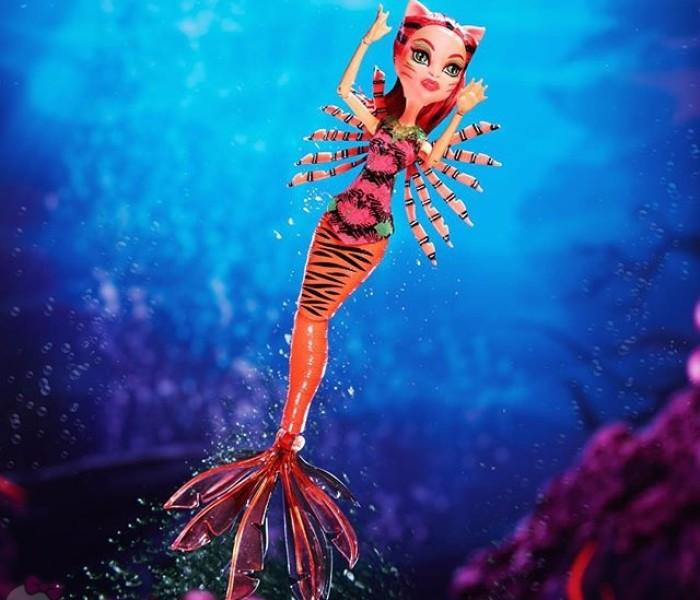 Видео-обзоры кукол Monster High из коллекции Great Scarrier Reef — Кала Мэр'ри, Торалей, Лагуна Блю и другие