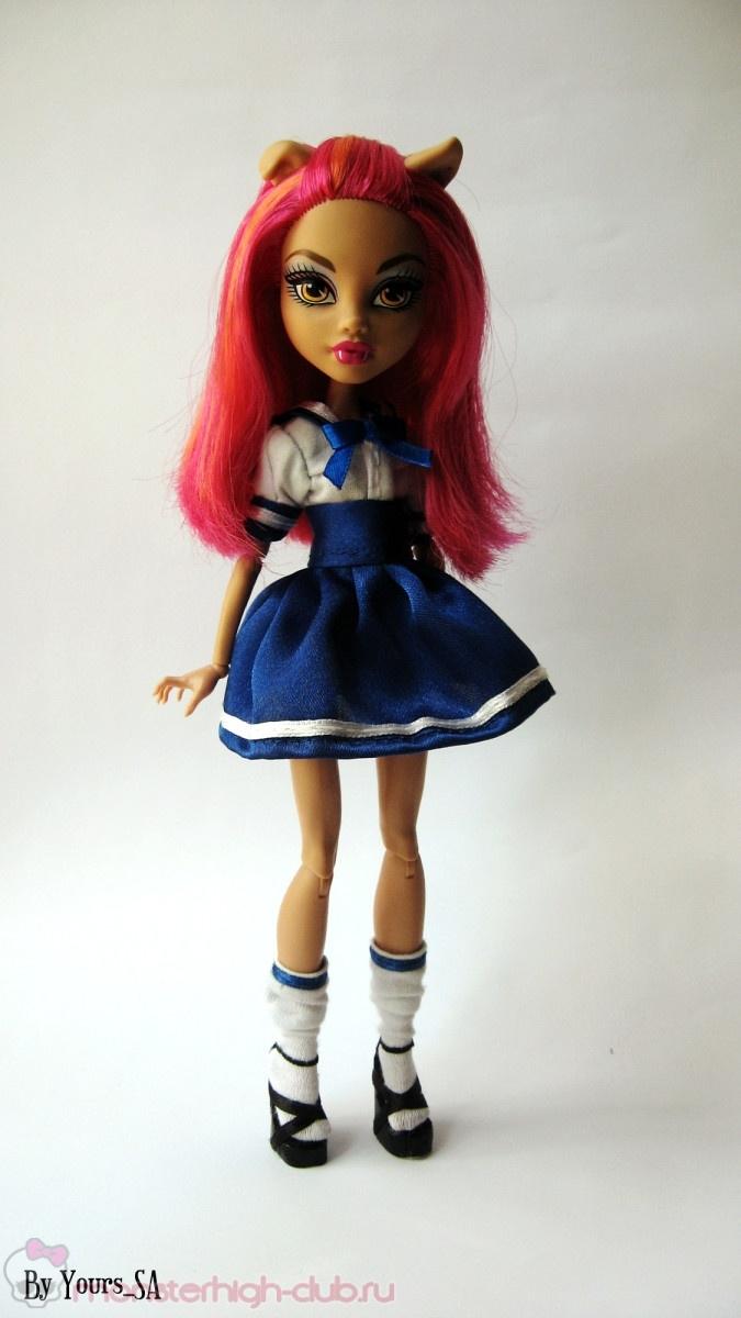 Школьная форма для куклы своими руками видео 171