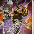 Перевод записей дневников из буклетов Monster High Collection с 20 по 23 выпуск: Оперетта, Гулия Йелпс, Твайла, Хоулин Вульф