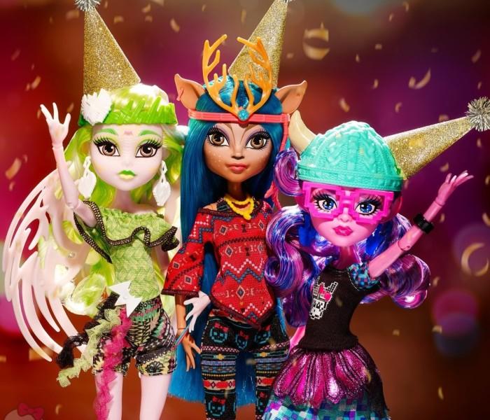 С новым годом, Monster High Club!