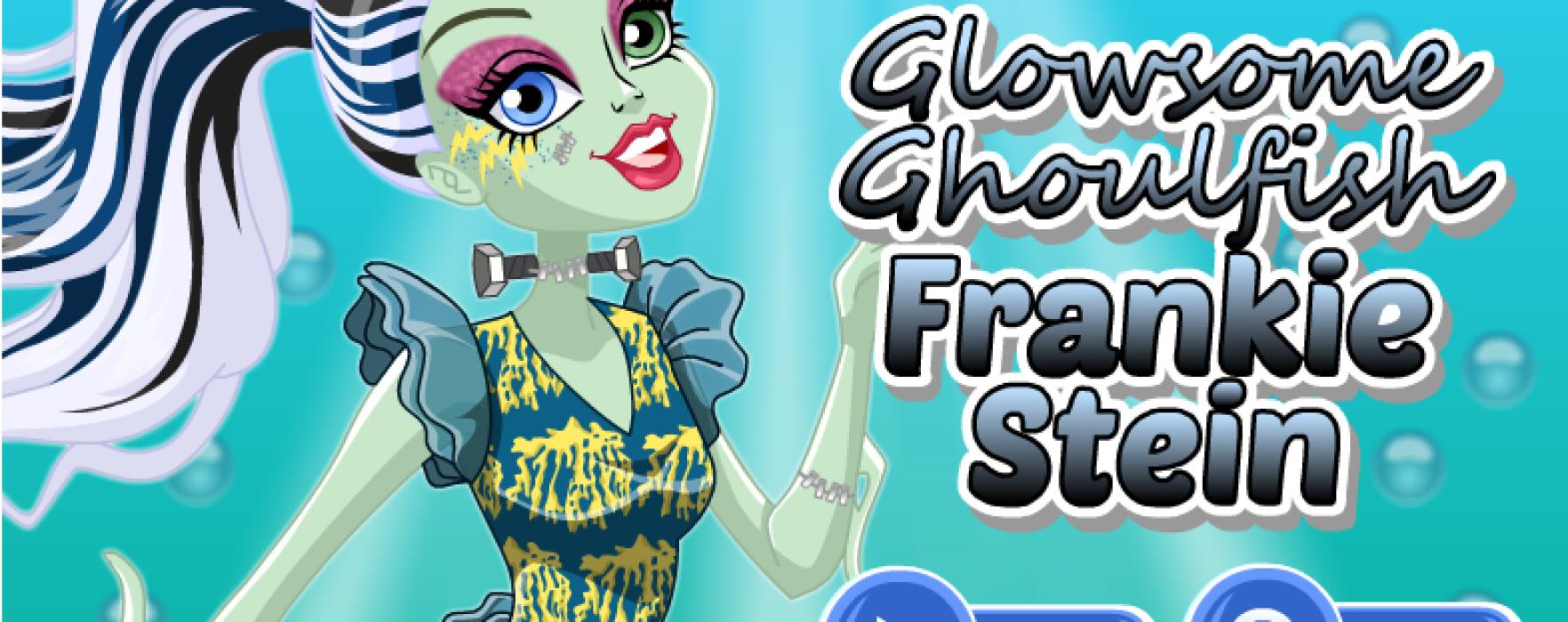 Одевалка Френки Штейн «Great Scarrier Reef / Glowsome Ghoulfish» — игры Monster High