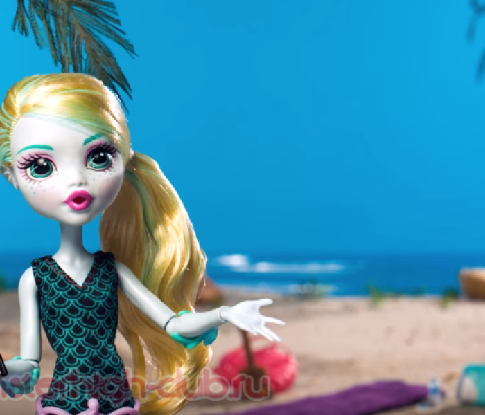 Стоп-моушен Lagoona Blue Makes a Splash at the Beach | Ghoul for the Summer | Monster High