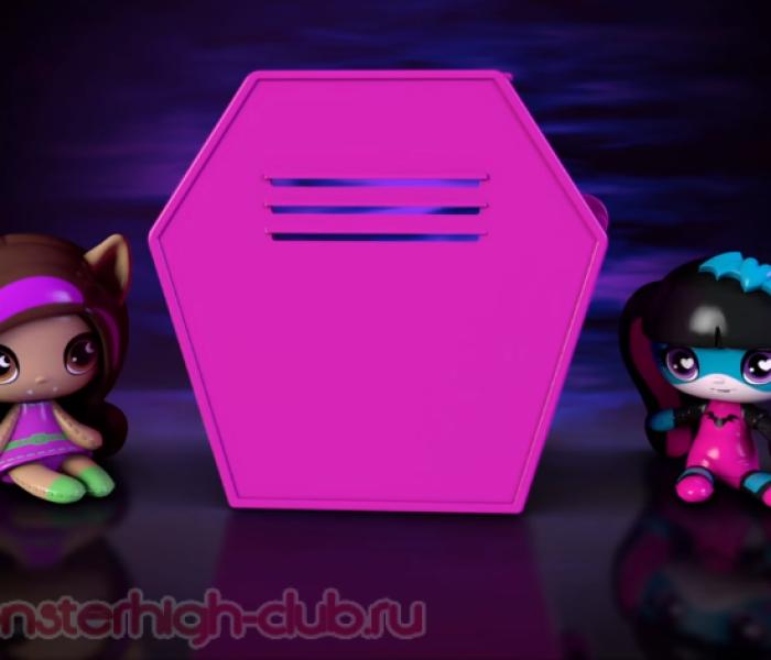 Реклама новых Monster High Minis от Mattel