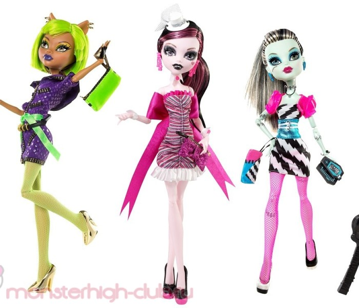 ТОП-3 лучших кукол Monster High из коллекции «Dawn of the Dance/Рассвет Танца»