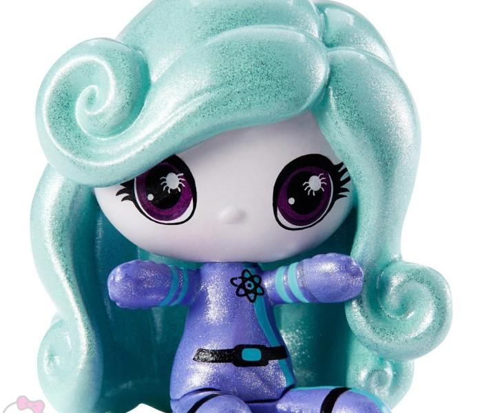 Промо-фото первой волны фигурок Monster High Minis — Space Ghouls — Кэтти, Дьюс, Твайла, Венера, Френки, Эбби