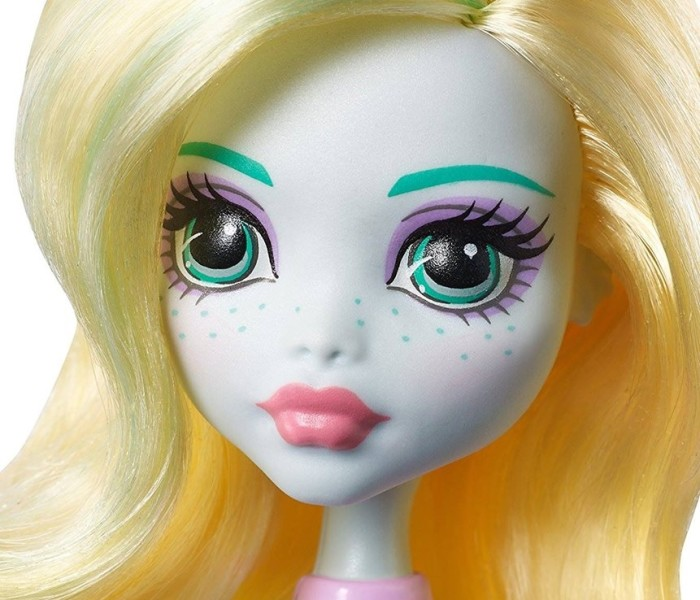 Промо-фото ультрабюджетной куклы Лагуны Блю из коллекции «Cheerleaders (Fearleading) /Чирлидеры»