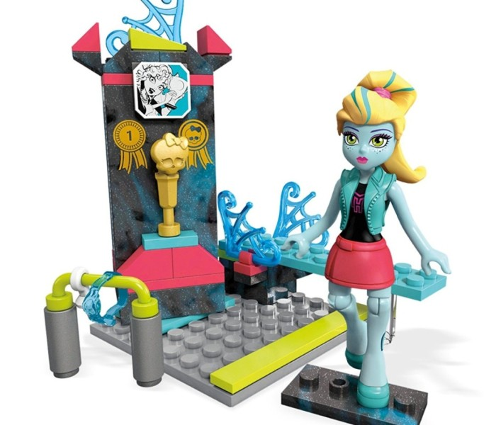 Новые плейсеты Mega Construx (Mega Bloks) Monster High — Клодин Вульф, Лагуна Блю, Френки Штейн