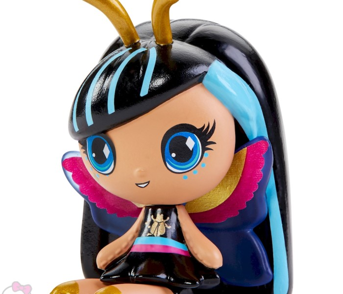 Промо-фото новых мини-фигурок Monster High Minis (Garden Ghouls, Glow in the Dark, Electrified, Emoji Ghouls, Metallic) — Лагуна, Робекка, Торалей, Клео и другие