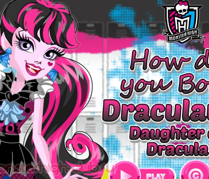 Подборка новых игр Monster High для детей и взрослых: Welcome to Monster High (Добро пожаловать в Школу Монстров)