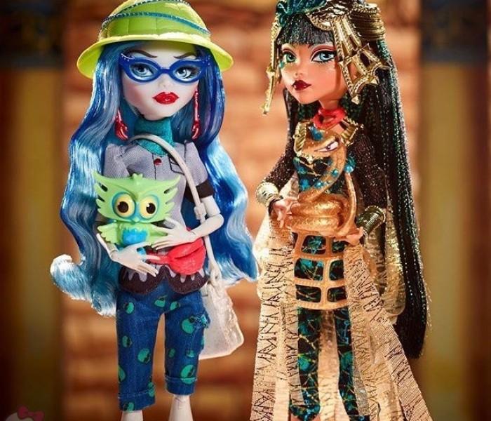 Итоги Комик-Кона 2017 и новые куклы Monster High (2017-2018): перезапуск Хоулин, балерины и многое другое